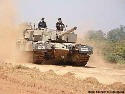 Arjun Main Battle Tank