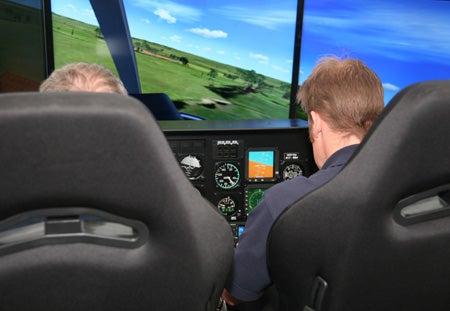 Simulator Training-Kiowa Flight Instructors