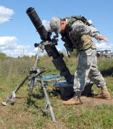 mortar_new One Tactical Engagement Simulation System