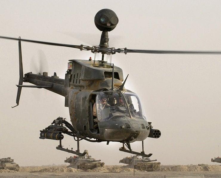 OH-58D Kiowa Warrior helicopter