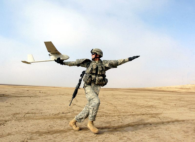 RQ-11B Raven small Unmanned Aircraft System