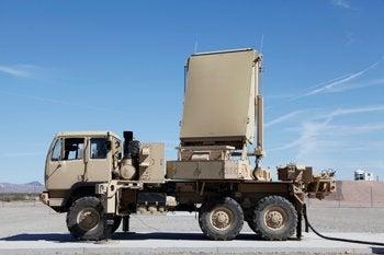 AN/TPQ-53 (EQ-36) Firefinder radar system