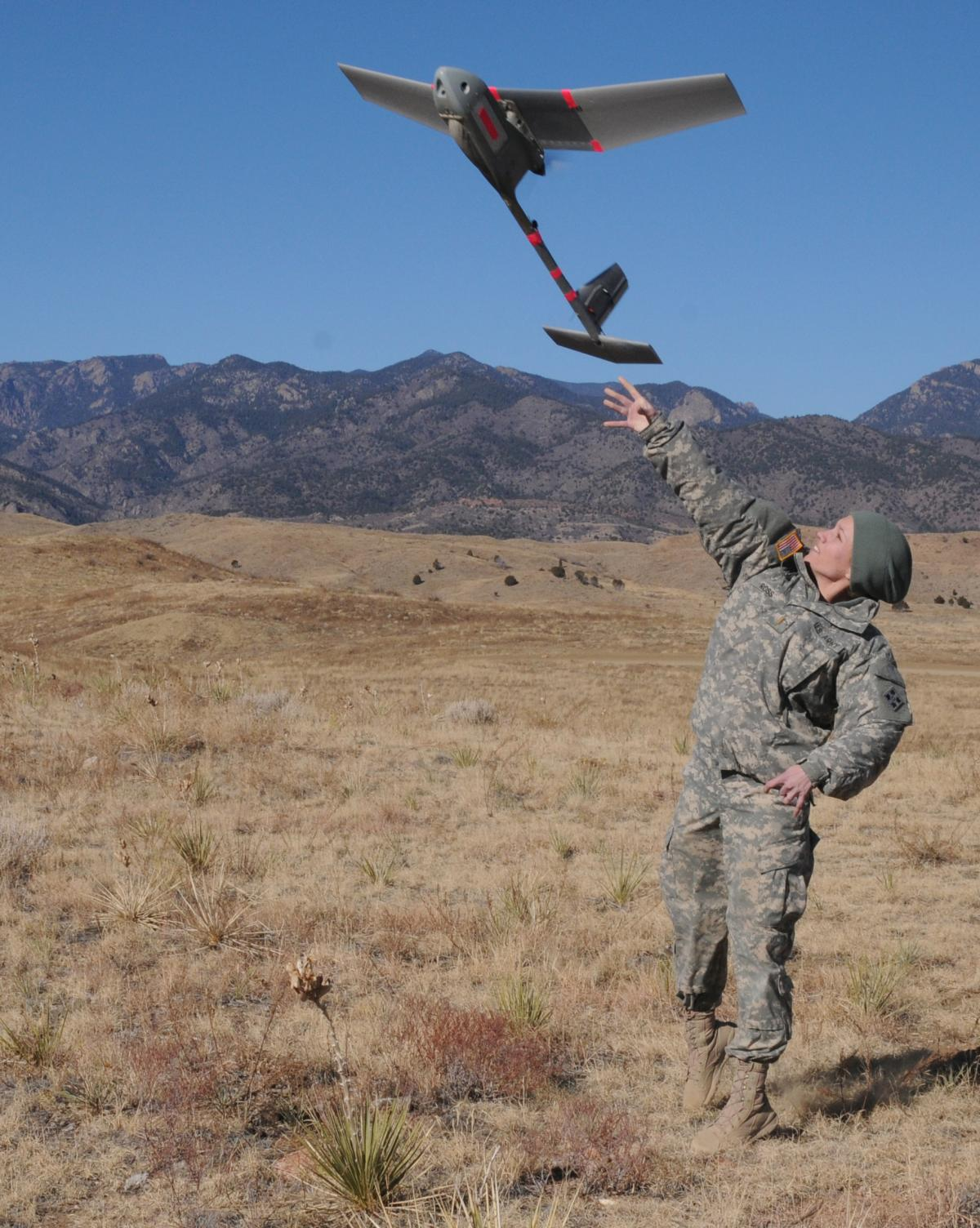 Us Army Soldiers Complete Raven Suas Training Certification
