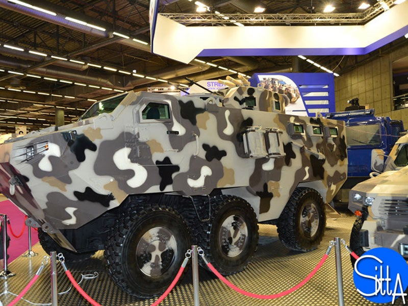Alligator 6x6 tactical armoured vehicle