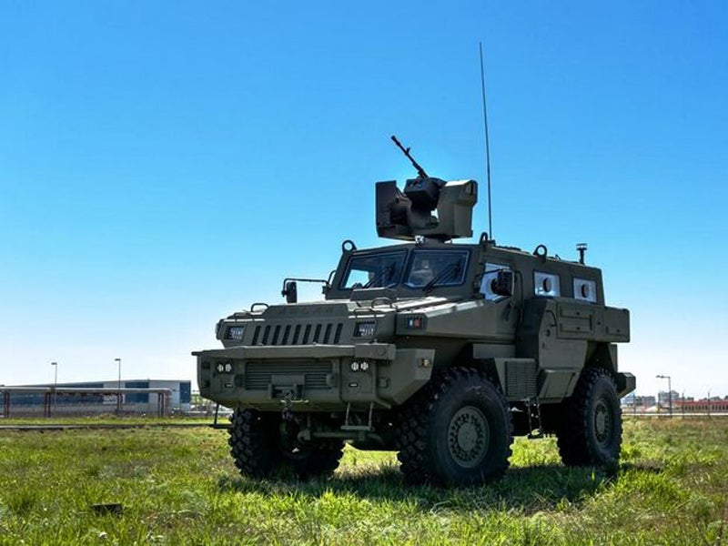 Arlan multi-role armoured vehicle