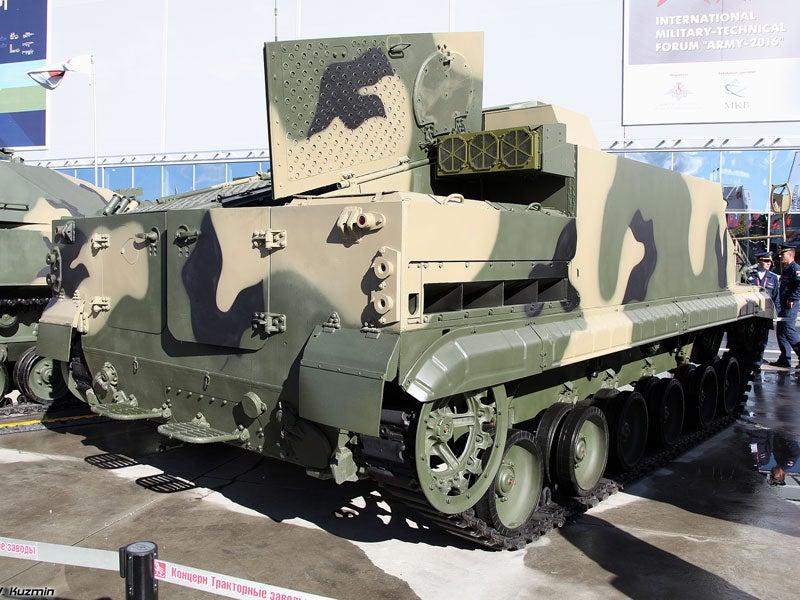 BT-3F amphibious infantry fighting vehicle