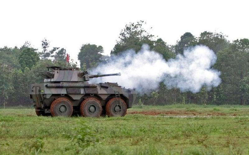 Badak Fire Support Vehicle