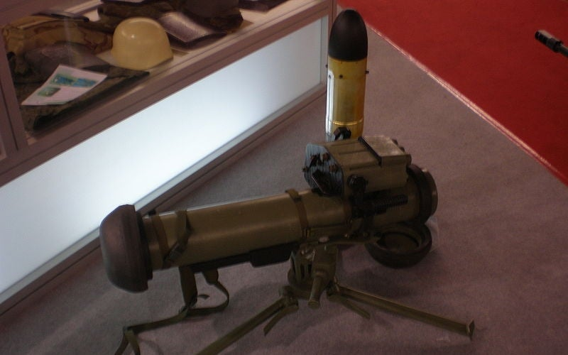 The Bumbar anti-tank guided missile system has been operational with the Serbian Armed Forces since 2012.