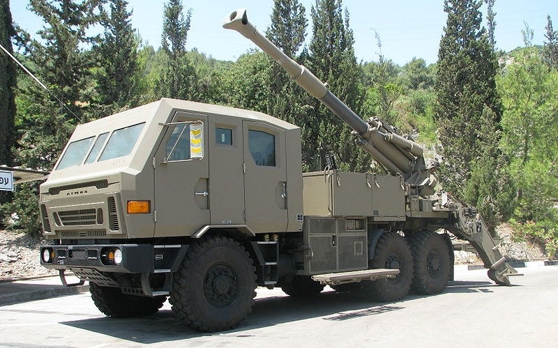 Kryl 155mm self-propelled howitzer