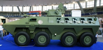 Lazar 2 8x8 multi-role armoured vehicle