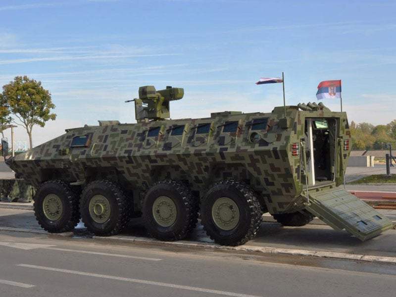 Lazar 3 multi-role armoured fighting vehicle