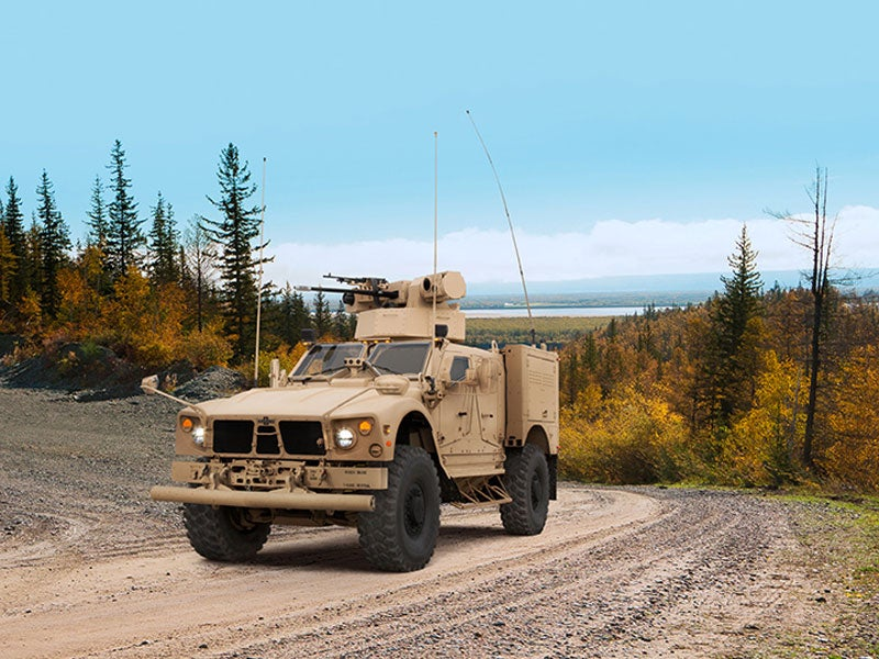 MRAP M-ATV assualt