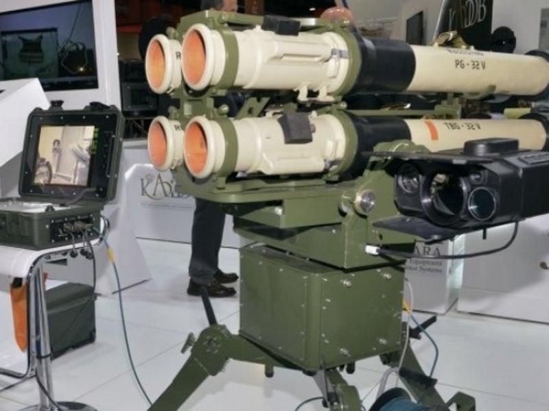 RPG-32 (Nash-Shab) Anti-tank weapon system