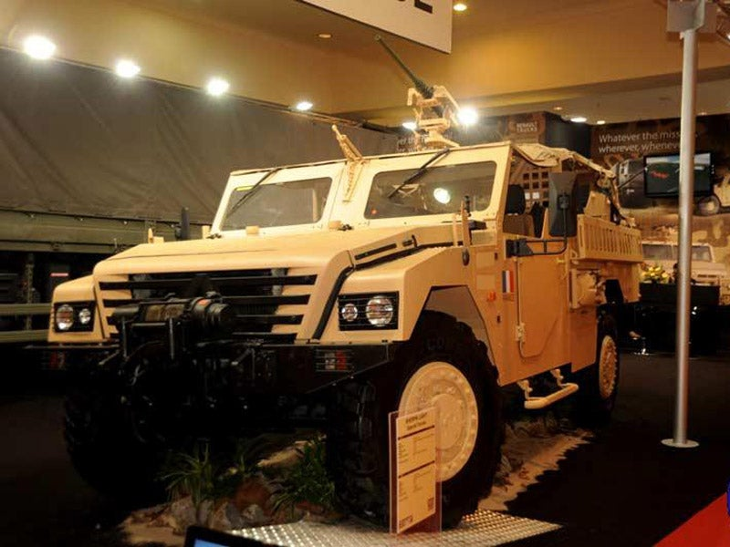 Sherpa Light Special Forces vehicle