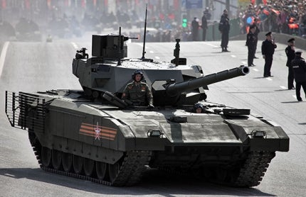 T14 Armata Main Battle Tank at Moscow Victory Day Parade 2015