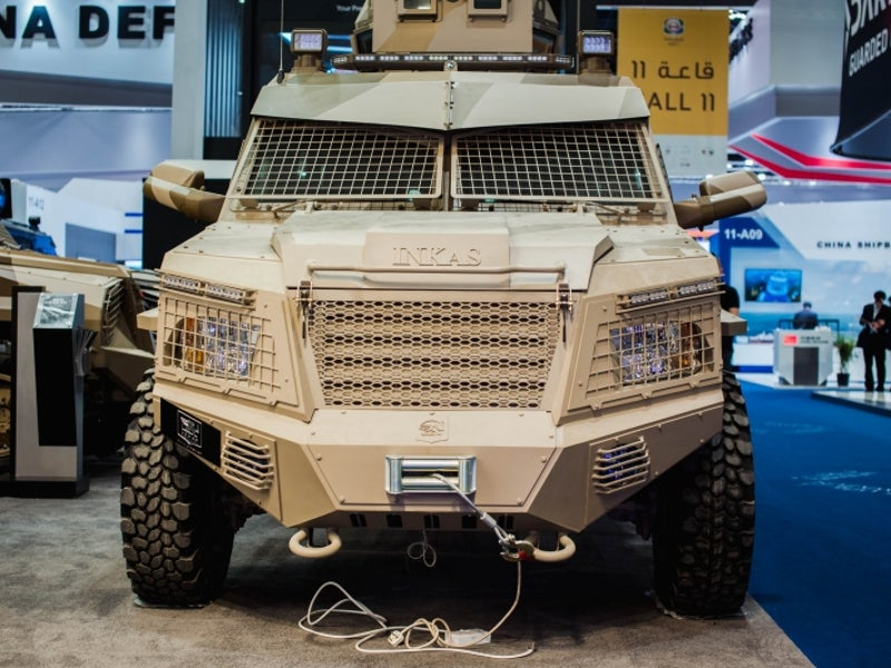 Titan-D 4x4 armoured personnel carrier