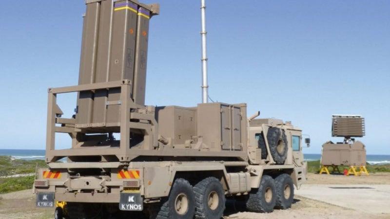 Umkhonto ground-based launcher