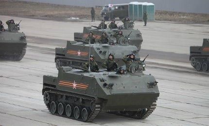 BTR-MDM Armoured Personnel Carrier - Army Technology