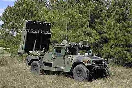 EFOGM anti-armour missile system