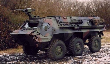 Fuchs 2 armoured personnel carrier