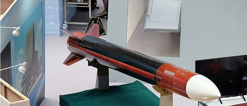 tien kung missile on display