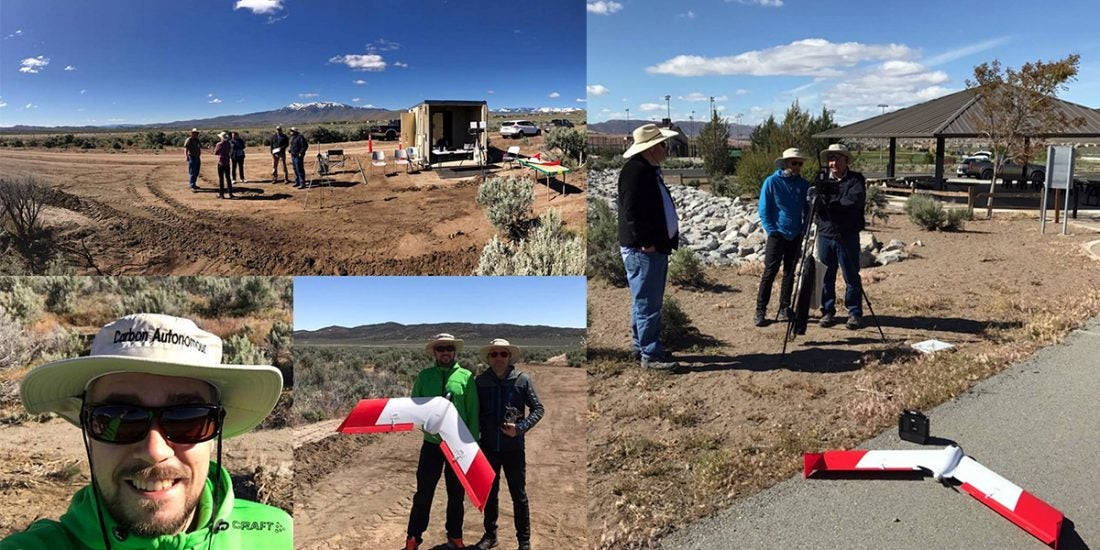 Nasa tests at Reno