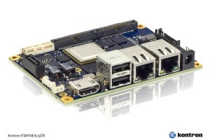 Kontron Pico-ITX Motherboard with Ti Sitara 3874 Boosts  Efficiency when Developing Rugged SFF Appliances