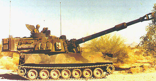 M109A6 Paladin Integrated Management howitzer