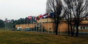 The Swedish Signals Regiment Headquarters, Enköping.