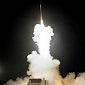 Terminal high-altitude area defence (THAAD) missiles