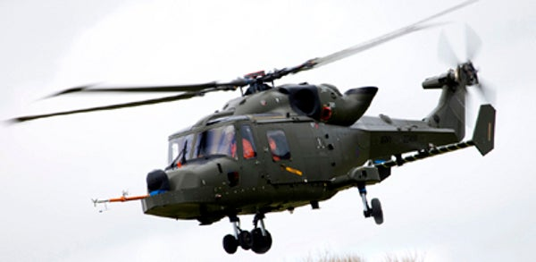 British Army Apache AH Mk1helicopter
